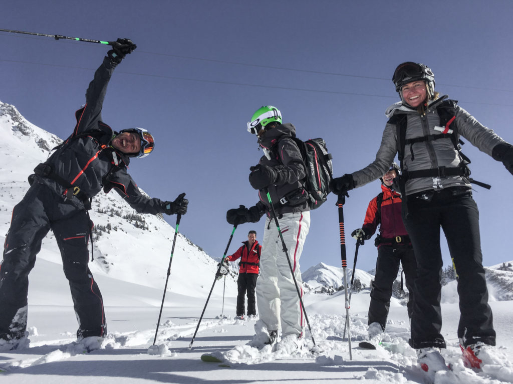 Wintersport Warth Skiguide Perl Mike Skitouring Skilehrer