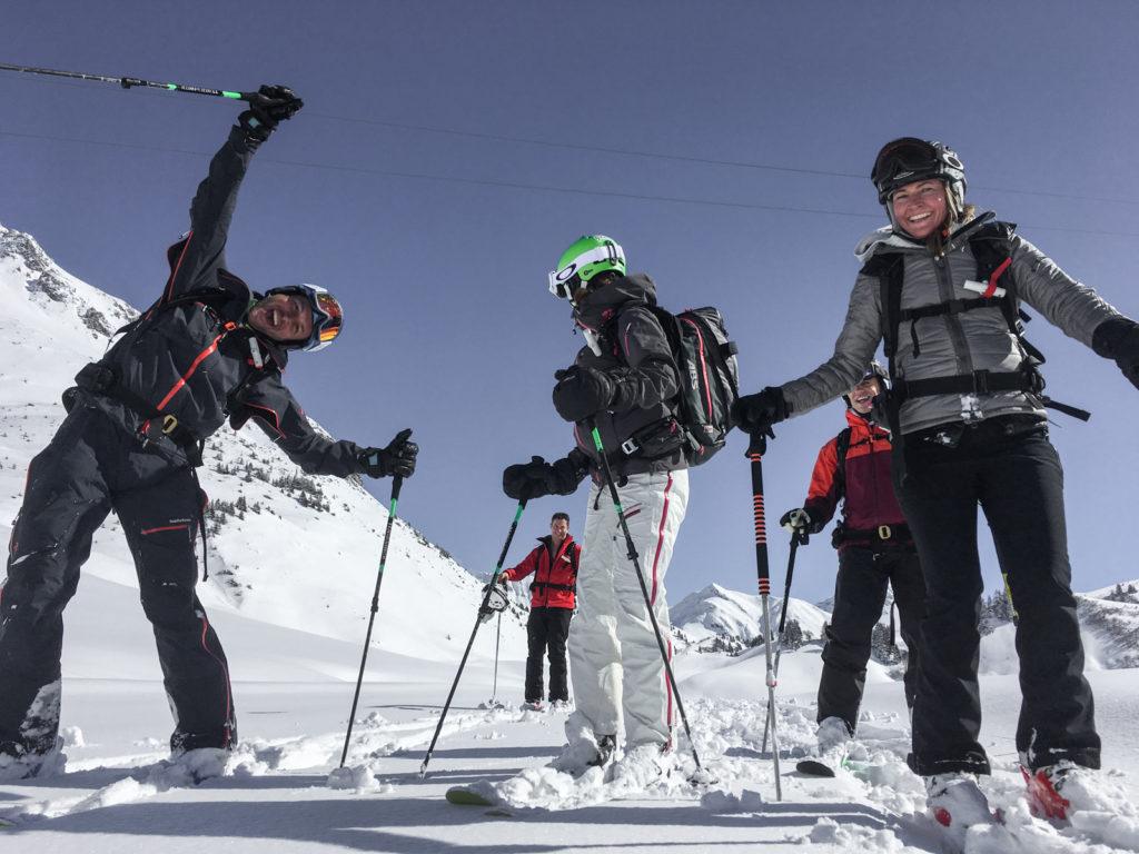 Wintersport Warth Skiguide Perl Mike Skitouring Skilehrer